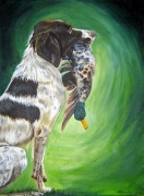 'Good boy!' Acryl op doek [30x40]